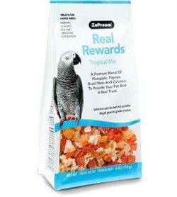 ZuPreem Real Rewards Tropical Mix for Large Birds (6oz)