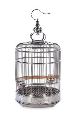 Lotus Stainless Steel Cage Small