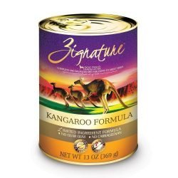 Zignature Kangaroo Formula Dog Foods