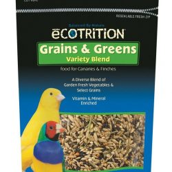 8 in 1 Ecotrition Grains & Greens Variety Blend for Canaries 8oz