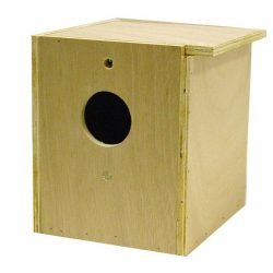 Bird Brainers LoveBird Nesting Box Inside/Outside Mounting