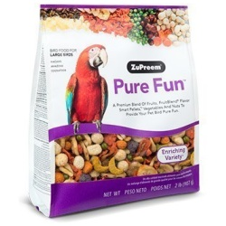 ZuPreem Pure Fun Bird Food for Large Birds 2lb