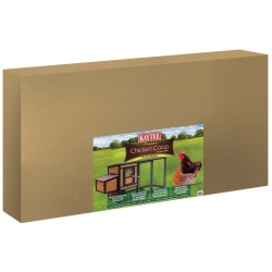 Kaytee Chicken Coop with Nesting Box Ideal for up to 4 Chickens 79.5x30x40.5