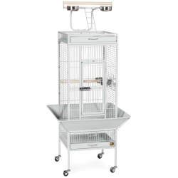 Select Bird Cage - Pewter White