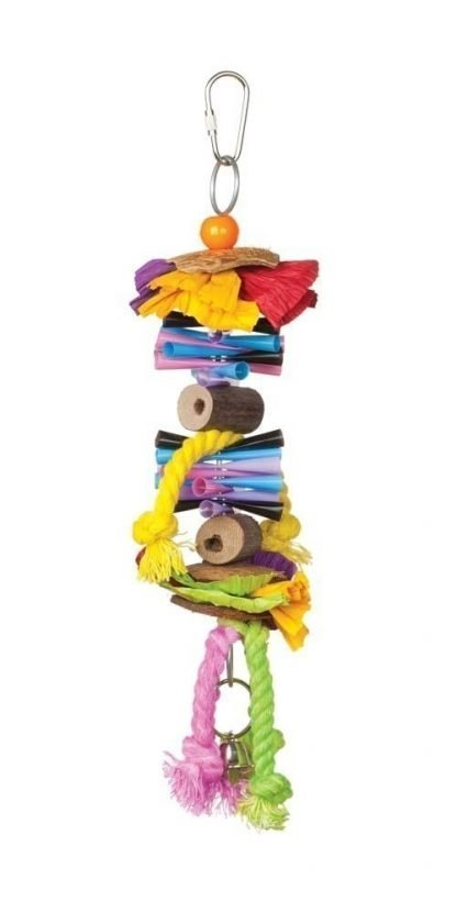Prevue Pet Products Tropical Teasers Party Time Bird Toy