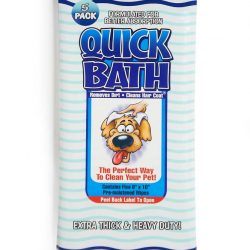 International Vet Quick Bath Wipes for Dogs