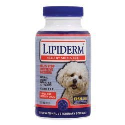 IVS Lipiderm Fish Oil (Small/Medium Dogs - 180 Soft Gels)
