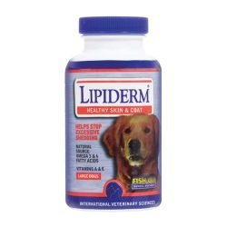 IVS Lipiderm Fish Oil (Large Dogs - 60 Soft Gels)