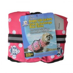 paws aboard doggy life jacket pink polka dot 1 250x250 - Paws Aboard Doggy Life Jacket - Pink Polka Dot (X-Small (For Dogs 7-15 lbs))