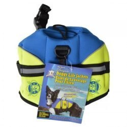 paws aboard neoprene designer doggy life jacket blue green 1 250x250 - Paws Aboard Neoprene Designer Doggy Life Jacket - Blue & Green