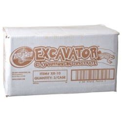 Zoo Med Excavator Clay Burrowing Reptile Substrate (20 lb Bag)