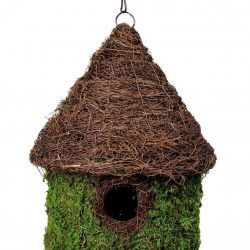 galapagos bungalow woven birdhouse fresh green 11 x 15in 250x250 - Galapagos Bungalow Woven Birdhouse (Fresh Green 11 x 15in)