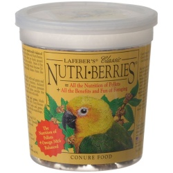 lafeber classic nutri berries conure food 250x250 - Lafeber Classic Nutri-Berries Conure Food  (12.5oz)