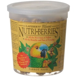 lafeber classic nutri berries parrot food 250x250 - Lafeber Classic Nutri-Berries Parrot Food  (12.5 oz)