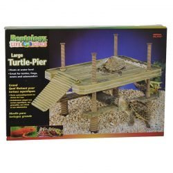 """Reptology Large Floating Turtle Pier (16""""L x 11""""W x 16""""H)"""