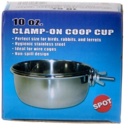 spot stainless steel coop cup with bolt clamp 250x250 - Spot Stainless Steel Coop Cup with Bolt Clamp (10 oz)