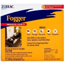 zodiac flea tick fogger 250x250 - Zodiac Flea & Tick Fogger (3 oz Cans [3 Pack])
