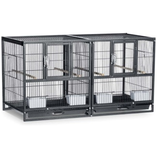 Prevue Pet Products Hampton Deluxe Divided Flight Breeding Cage System