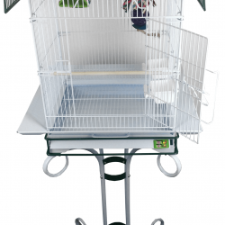 """AE01541 21 250x250 - Double Macaw Cage in Stainless Steel (80""""x40"""")"""