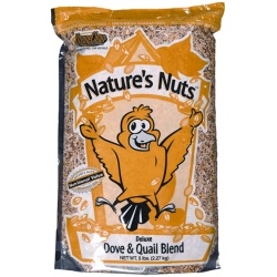 Chuckanut Natures Nuts Deluxe Dove and Quail Blend (5lb)