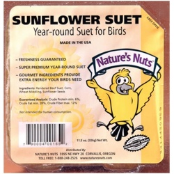 Chuckanut Natures Nuts Sunflower Suet 9lb