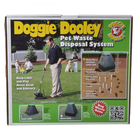 Doggie Dooley Leach Bed Style Pet Waste Disposal System