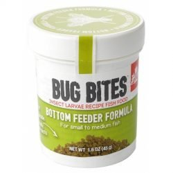 Fluval Bug Bites Bottom Feeder Formula Granules for Small-Medium Fish (1.59 oz)