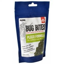 Fluval Bug Bites Pleco Formula Sticks for Medium-Large Fish (4.59 oz)