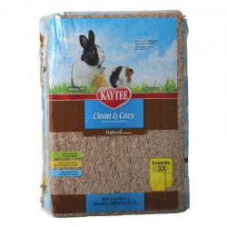 Kaytee Clean & Cozy Small Pet Bedding - Natural (96.3 L (Expanded))