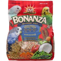 lm animal farms bonanza parkeet gourmet diet 2 lbs 250x250 - LM Animal Farms Bonanza Parkeet Gourmet Diet (2 lbs)