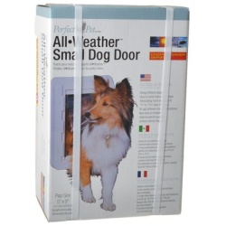 """perfect pet all weather pet door super large 15w x 235h 250x250 - Perfect Pet All Weather Pet Door (Super Large - [15""""W x 23.5""""H])"""