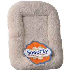 """Precision Pet SnooZZy Bumper Bed - Natural Long Terry (Medium 4000 (35"""" Long x 23"""" Wide))"""
