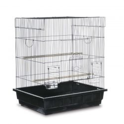 Prevue Pet Products Pre-Packed Square Top Parakeet or Cockatiel Cages 25x21 2pc