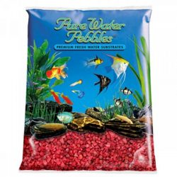 "pure water pebbles aquarium gravel currant red 2 lbs 31 63 mm grain 250x250 - WavePoint HO-T5 Blue Wave Actinic 460nm Lamps (54 Watts [45"" Lamp])"