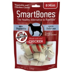 "smartbones chicken vegetable dog chews large 65 long dogs over 40 lbs 3 pack 250x250 - SmartBones Chicken & Vegetable Dog Chews (Large - 6.5"" Long - Dogs over 40 Lbs [3 Pack])"