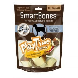 "smartbones playtime chews for dogs peanut butter medium 5 pack 2 diameter chews 250x250 - SmartBones PlayTime Chews for Dogs - Peanut Butter (Medium - 5 Pack - [2"" Diameter Chews])"