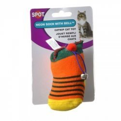 spot spotnips yellow sock with catnip bell catnip amp bell cat toy 250x250 - Spot Spotnips Yellow Sock with Catnip & Bell  (Catnip & Bell Cat Toy)