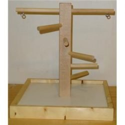 Wood Play Stand Small