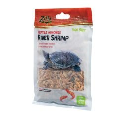Zilla Munchies River Shrimp Reptile Food Trial Size .35oz