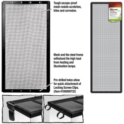 Zilla Fresh Air Screen Cover 36X12