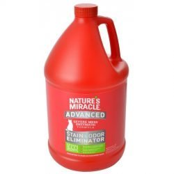 Nature's Miracle Just for Cats Advanced Stain & Odor Remover (1 Gallon)