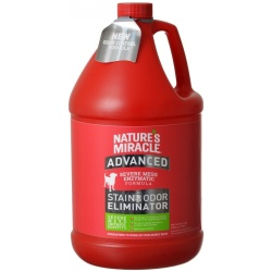 Nature's Miracle Advanced Stain & Odor Remover (1 Gallon Refill Bottle)