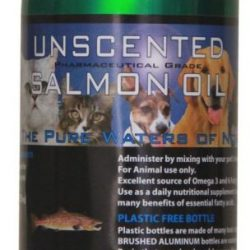 Iceland Pure Unscented Pharmaceutical Grade Salmon Oil (16 oz)