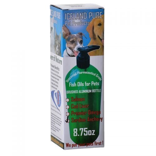 Iceland Pure Sardine & Anchovy Oil (8.75 oz)