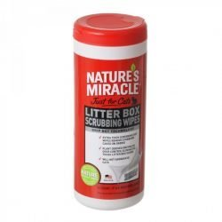 "Nature's Miracle Just For Cats Litter Box Wipes (30 Count - [7"" x 8"" Wipes])"