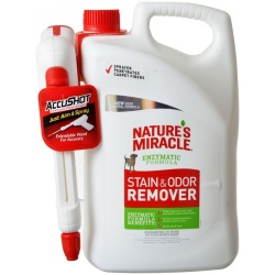 Nature's Miracle Stain & Odor Remover Battery Operated Power Spray (1.33 Gallons)