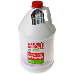 Nature's Miracle Stain & Odor Remover - Lavender Scent (1 Gallon)
