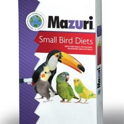 2014 Mazuri Small Bird 25 lb Bag 250x250 - Mazuri® ZuLiFe® Soft-Bill Diet for Iron Sensitive Birds