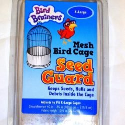 Bird Brainers Mesh Bird Cage Seed Guard X-Large