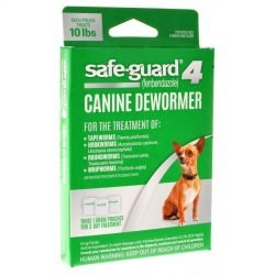 8 in 1 pet products safe guard 4 canine dewormer small dog 3 x 1 gram 250x250 - 8 in 1 Pet Products Safe-Guard 4 Canine Dewormer (Small Dog - [3 x 1 Gram])